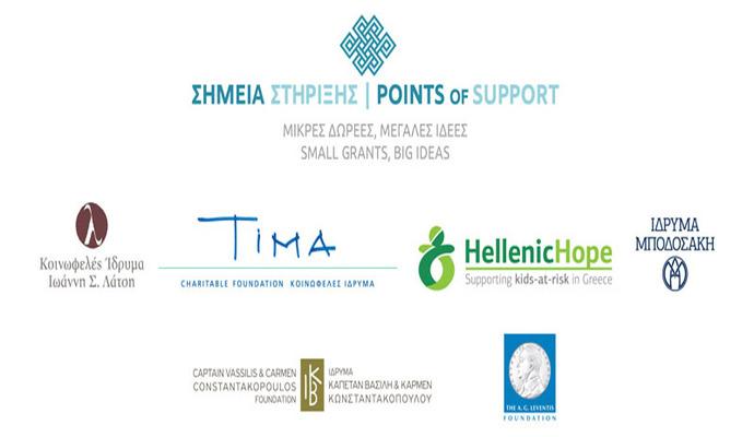Ανακοίνωση αποτελεσμάτων 3ου κύκλου προγράμματος «Σημεία Στήριξης»